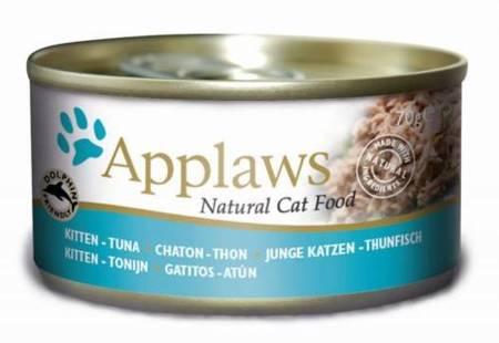 APPLAWS Kitten Tuna puszka Tuńczyk dla Kociąt 70g