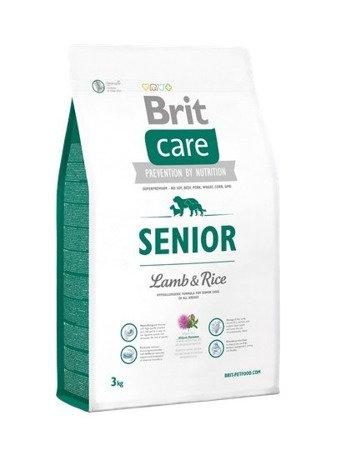 BRIT CARE PIES SENIOR LAMB & RICE 3 kg, Jagnięcina z ryżem