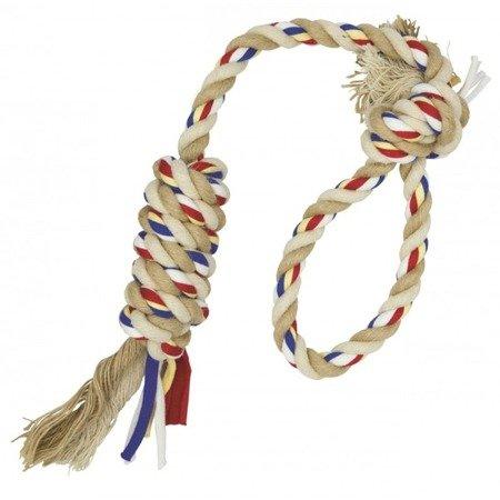 Barry King sznur z pętlą i splotem z jutą 45cm / 90g