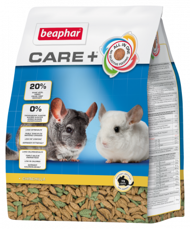 Beaphar Care+ Chinchilla 1,5 kg - karma Super Premium dla szynszli