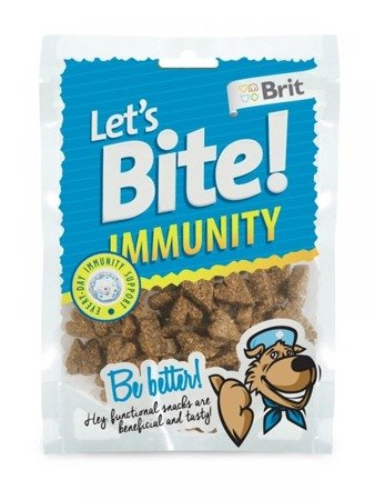 Brit Let's Bite Dog Immunity 150 g
