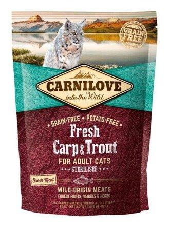 Carnilove Fresh Carp & Trout - Sterilised 400 g, Karp i Pstrąg