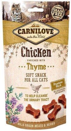 Carnilove Semi-Moist Snack Chicken & Thyme 50 g Kurczak i Tymianek