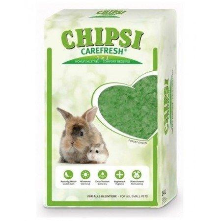 Chipsi Carefresh Forest Green Podściółka celulozowa 14 l