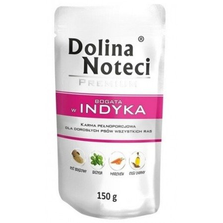 DOLINA NOTECI PREMIUM BOGATA W INDYKA 150 g