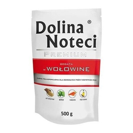DOLINA NOTECI PREMIUM BOGATA W WOŁOWINĘ 500 g
