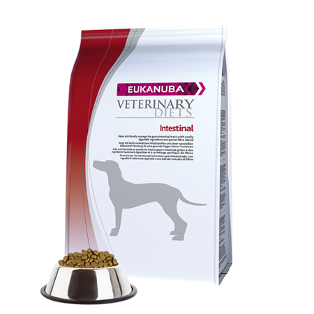 EUKANUBA Veterinary Diets Intestinal dla psów 12 kg