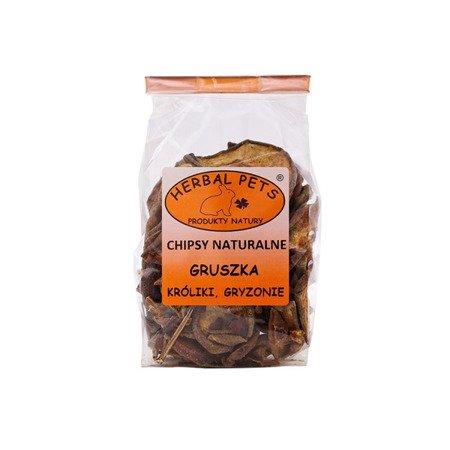 HERBAL Pets Chipsy naturalne Gruszka 75 g