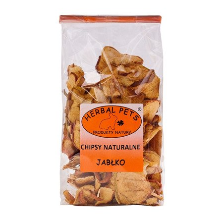 HERBAL Pets Chipsy naturalne Jabłko 100 g