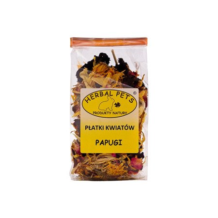HERBAL Pets Płatki kwiatów Papugi 30 g