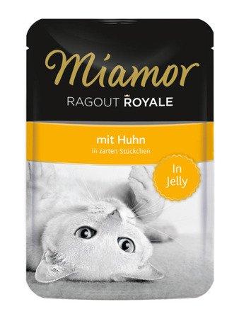 MIAMOR Ragout Royale z Kurczakiem w Galaretce Saszetka 100 g