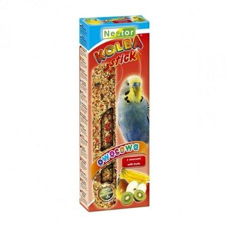 NESTOR KOLBA dla małych papug z owocami OWOCOWA 85g 2szt.