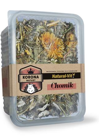 Natural-Vit Suszone zioła dla CHOMIKA 70 g Korona Natury