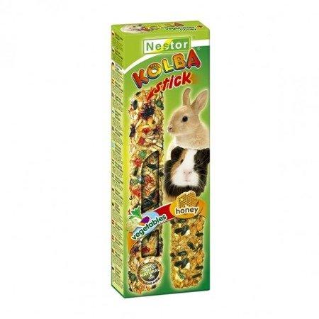 """Nestor Kolba """"2 w 1"""" dla gryzoni i królików - miodowa i warzywna"""