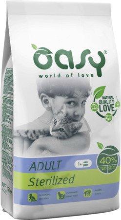 OASY DRY CAT Sterilized - Kurczak 1,5 kg
