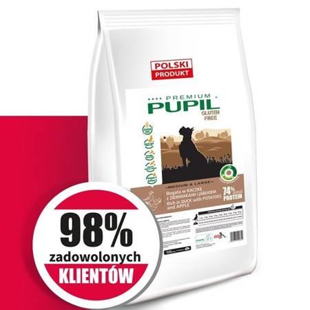 PUPIL Premium GLUTEN FREE MEDIUM & LARGE bogata w gęś z ryżem i aronią 12 kg