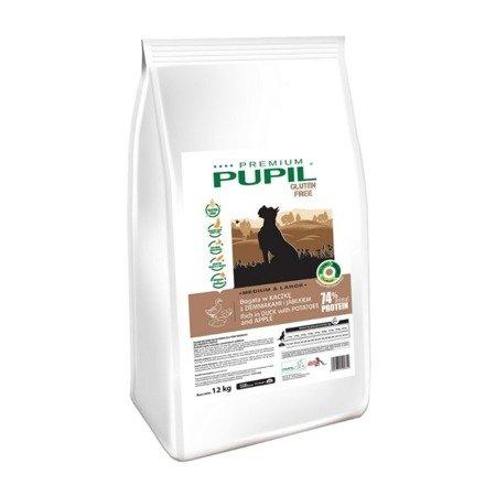 PUPIL Premium GLUTEN FREE MEDIUM & LARGE bogata w kaczkę z ziemniakami i jabłkiem 12 kg