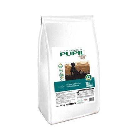 PUPIL Premium GLUTEN FREE MINI bogata w łososia 10 kg