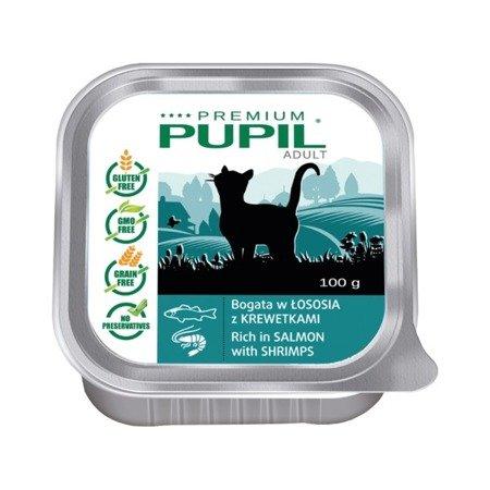 PUPIL Premium bogata w łososia z krewetkami 100 g