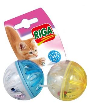 RIGA-Zabawka dla kota - Mix - piłeczki i dzwonki