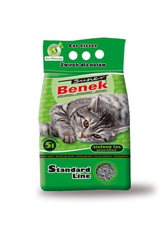 Super Benek STANDARD ZIELONY LAS 5 l