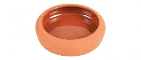 Trixie Miska ceramiczna dla małych zwierząt terakota, pojemność 200 ml, średnica 10 cm