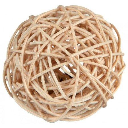 Trixie Piłka z dzwonkiem z wikliny, średnica 4 cm