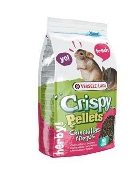 Versele Laga Crispy Pellets - Chinchillas&Degus 1 kg - granulat dla szynszyli i kosztaniczek
