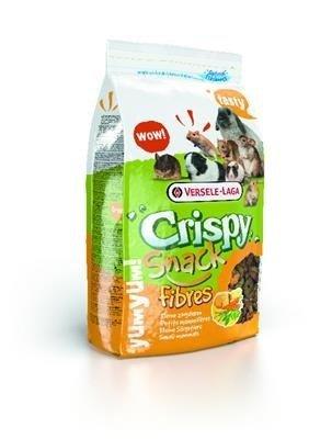 Versele Laga Crispy Snack Fibres 650g - granulat warzywny/karma uzupełniająca dla gryzoni