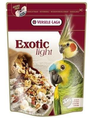 Versele Laga Exotic Light 750g - mieszanka z prażonymi ziarnami dla dużych i średnich papug