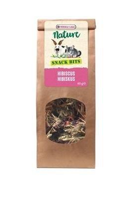 Versele Laga Nature Snack Bits Hibiscus 60g - kąski wysokobłonnikowe z hibiskusem