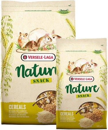 Versele Laga Snack Nature Cereals 2,5 kg - płatki zbożowe, prażone zboża i owoce dla gryzoni i królików