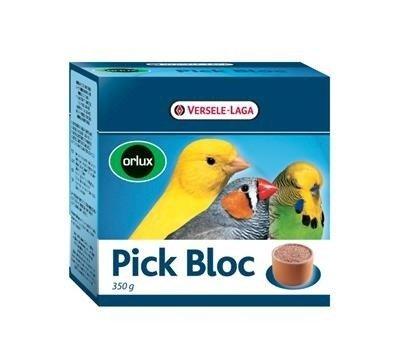 Versele LagaOrlux Pick Bloc 350g - minerały w glinianej miseczce dla ptaków